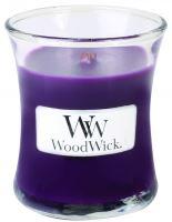 Woodwick oválna váza Spiced Blackberry 85g