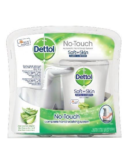 Dettol Aloe Vera bezdotykový dávkovač mydla a náplň 250 ml