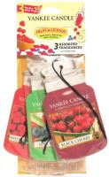 Yankee Candle Car Jar Classic 3 Assorted Fragrances Fruit-A-Licious