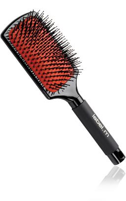label.m Paddle Brush / Plochý kefa pre silné, dlhé vlasy