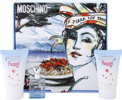 Moschino Funny W EDT 4ml Edt 4ml + 25ml telový gél + 25ml sprchový gél