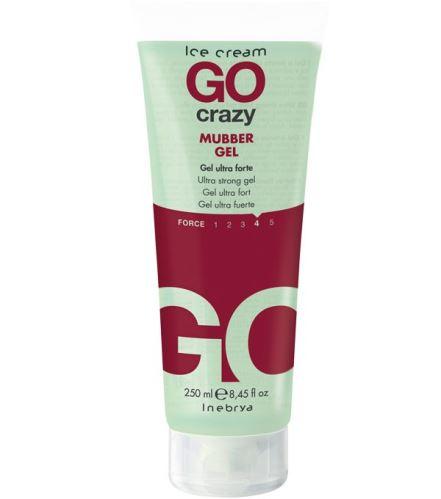 CRAZY Mubber Gel 250 ml - silný gél s efektom mokrých vlasov