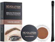 Makeup Revolution London Brow Pomáda With Double Ended Brush W očné linky 2,5g