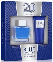 Antonio Banderas Blue Seduction For Men M EDT 100ml + ASB 75ml