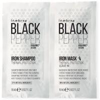 Inebrya Black Pepper Iron Shampoo 15ml + Iron Mask 15ml