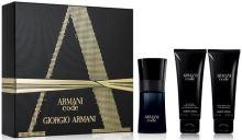 Giorgio Armani Armani Code Pour Homme M EDT 75 toaletná voda 75 ml + balzam po holení 75 ml + sprchový gél 75 ml
