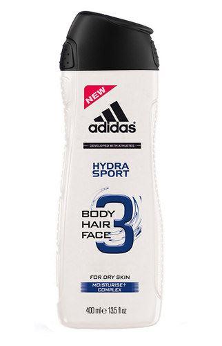 Adidas 3in1 Hydra Sport sprchový gél 250 ml Pre mužov