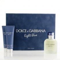 Dolce & Gabbana Light Blue Pour Homme toaletná voda 125ml + balzam po holení 75ml + sprchový gel 50ml Pre mužov darčeková sada