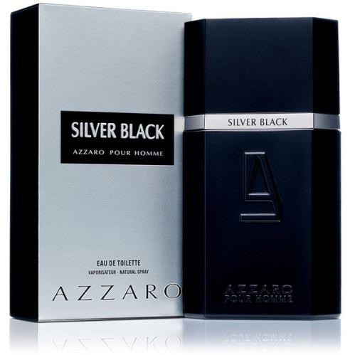 Azzaro Silver Black EDT 100 ml Pre mužov