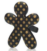 Mr & Mrs Fragrance Niki Ambre Musk - čierna, zlatý bodka