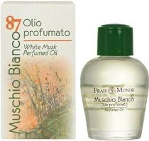 Frais Monde White Musk PERFUMED Oil Parfumovaný olej 12ml W