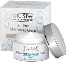 DR. SEA Cucumber & Dunaliella Oil-Free Moisturizing Cream 50ml