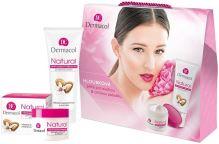 Dermacol Natural Almond W denný pleťový krém 50 denná pleťová starostlivosť 50 ml + krém na ruky 100 ml