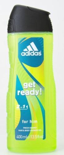 Adidas Get Ready! Sprchový gél 400 ml M