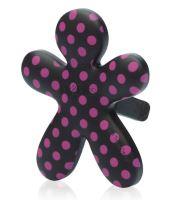 Mr & Mrs Fragrance Niki Pink Jasmine Anti-Tabacco - čierna, ružový bodka
