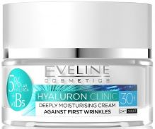 Eveline Hyaluron Clinic Deeply Moisturising Day And Night Cream 30+ 50ml