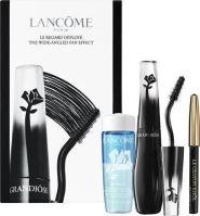 Lancome Grandiose W riasenka 10 riasenka 10 ml + ceruzka na oči Le Crayon Khol 0,7 g 01 Noir + odličovacie prípravok na oči Bi-Facil 30 ml