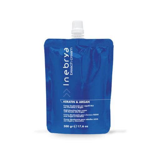 Blue Bleaching Hair Cream - Keratin & arganu 500gr / Bleachings / Odfarbovanie