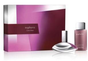 Calvin Klein Euphoria EDP 100ml + tělové mléko 100ml Pre ženy darčeková sada