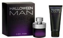 JESUS DEL POZO Halloween Man Darčeková sada pánska toaletná voda 75 ml + balzam po holení Halloween Man 100 ml