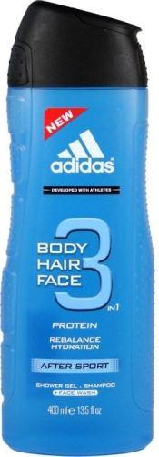 Adidas 3in1 After Sport Sprchový gél 400 ml M