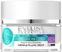 Eveline Hyaluron Clinic Wrinkle Filling Day And Night Cream 60+ 50ml