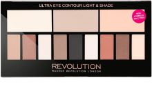 Makeup Revolution London Ultra Eye Contour Light & Shade W očné tiene 14g