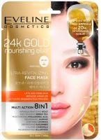 Eveline 24k Gold Nourishing Elixír Ultra-Revitalizing Face Sheet Mask