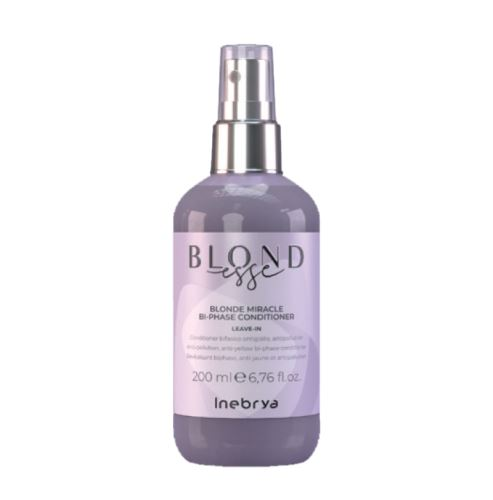 Inebrya BLONDESSE Blonde Miracle Bi-Phase Conditioner dvojfázový kondicionér 200 ml