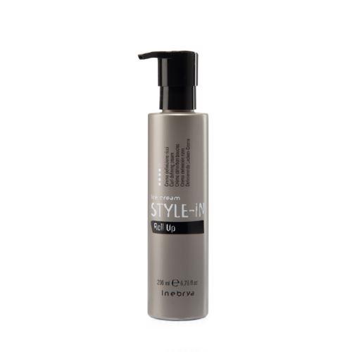 Inebrya Roll Up vlasový krém pre definíciu vĺn 200 ml