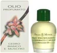 Frais Monde White Cedar And Musk PERFUMED Oil Parfumovaný olej 12ml W