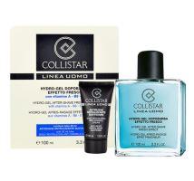 Collistar Men Hydro-gél After Shave Fresh Effect 130ml M 100 ml After-Shave Gel + 30 ml Anti-Wrinkle Cream