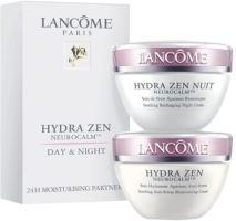 Lancome Hydra Zen Cream Duo Kit W denný krém na všetky typy pleti 50ml pleťový krém Hydra Zen Anti-Stress 50 ml + nočný krém Hydra Zen Nuit 50 ml