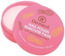 Dermacol Nail Polish Remover Pads 32ks