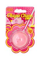 Lip Smacker Chupa Chups Domed Ball Balm - Strawberry & Cream 7g