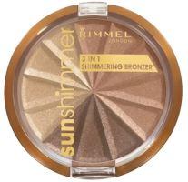 Rimmel London Sun Shimmer 3in1 Shimmering Bronzer