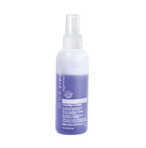 Inebrya AGE THERAPY Bi-Phase Blonde Conditioner dvojfázový kondicionér 200ml