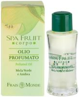 Frais Monde Spa Fruit Green Apple And Amber Parfumovaný olej 10ml W