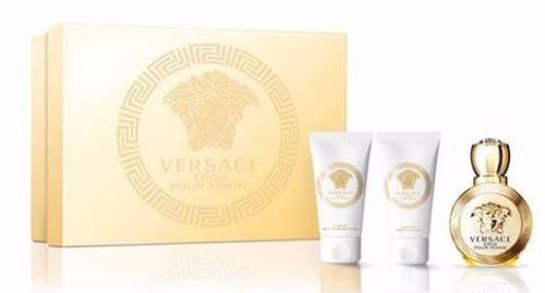 Versace Eros pour Femme EDP MINI 5 ml + SG 25 ml + BL 25 ml W