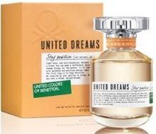Benetton United Dreams Stay Positive W EDT 80ml