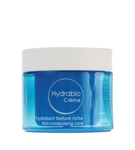 Bioderma Hydrabio Créme výživný hydratačný krém pre suchú až veľmi suchú citlivú pleť 50 ml