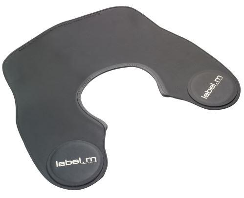 label.m Golier na strihanie čierny