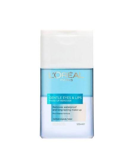 LOREAL Gentle Make-Up Remover Eye & Lips Waterproof 125 ml