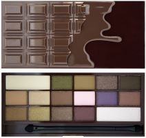 Makeup Revolution London I Heart Makeup Chocolate Palette 22g - Heart Chocolate