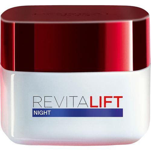 LOREAL REVITALIFT Night Cream 50 ml, pre ženy - všetky typy pleti