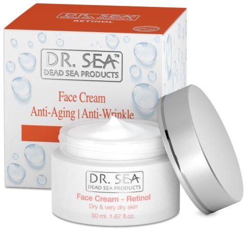 DR. SEA Retinol Anti-Aging / Anti-Wrinkle Face Cream Dry & Very Dry Skin 50ml